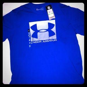 Under Armour men's Royal Blue color logo sz Lg NWT